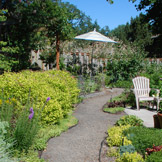 Photo by Anna Stubbs, 2010 Idyllic garden path